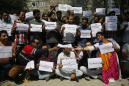Journalists in Kashmir protest India's curbs on press