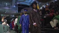 Mass graduation celebrates young Black men