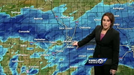 Snow could make New Year's Eve celebrations slick