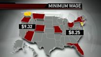 Law of the new year: 13 states to raise minimum wage