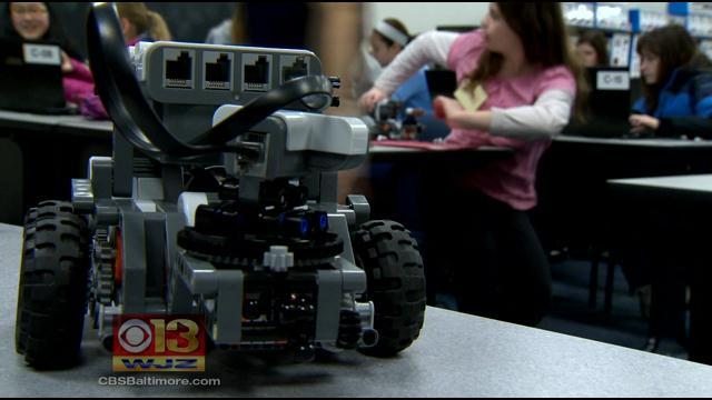 Program At Naval Academy Aims To Get Kids Interested In Math And Science