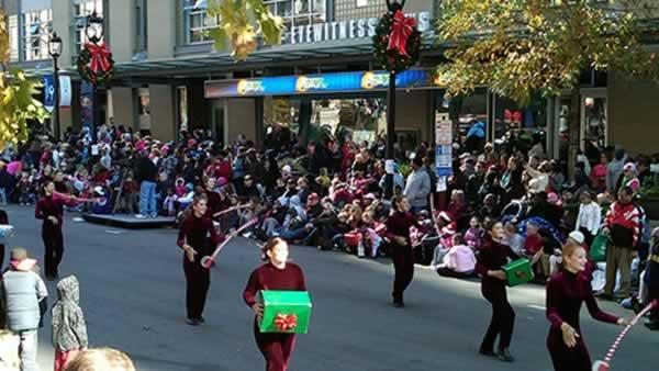 Thousands gather for Raleigh Christmas Parade