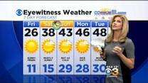 Katie's Cold Friday Forecast (6AM): March 6, 2015