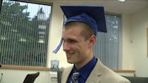 Student Misses Graduation To Head To Boot Camp