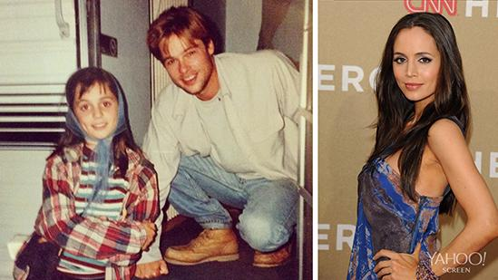 Actress Shares Pre-Fame Brad Pitt Photo
