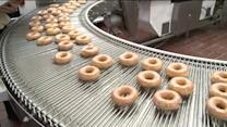 How they make the donuts: Krispy Kreme Donuts celebrates their 76th birthday