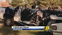 Police: Truck ran from checkpoint before triple fatal Harnett County crash