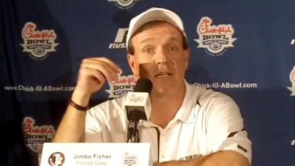 Jimbo Fisher on FSU''s Chick-fil-A Bowl victory