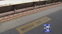 College student pushed on to Metro-North tracks