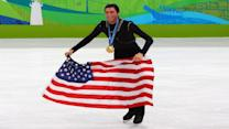 Evan Lysacek on Tonya Harding, Nancy Kerrigan, and the NBA legend who inspired his Olympic pursuit