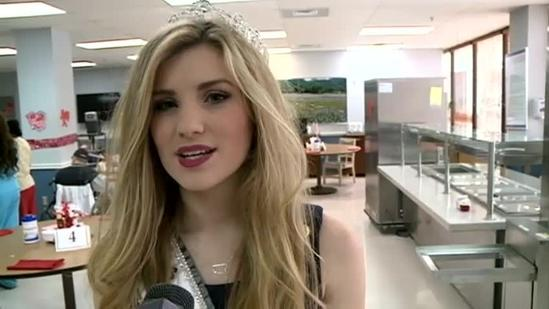 Miss Mississippi Teen USA visits VA Hospital