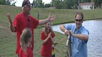 Austin Outdoors: Austin Visits Kernersville Pond