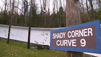 Devon Harris and Pat Brown on Shady Curve at Lake Placid