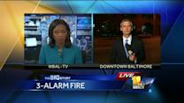 Residents back in apartments after fire; Tenants angry