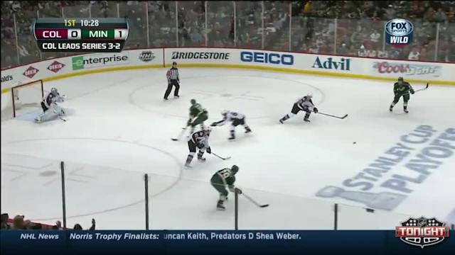 Colorado Avalanche at Minnesota Wild - 04/28/2014