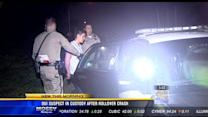 DUI suspect in custody after rollover crash in National City
