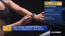 CNBC update: Apple Watch could replace your car keys