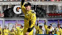 Victory Lane: Brad Keselowski celebrates again