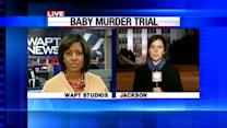 Ex-officer on trial in death of baby