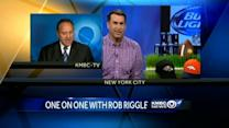 KMBC's Kris Ketz talks with actor Rob Riggle
