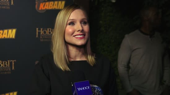 Why Kristen Bell Doesn't Drink