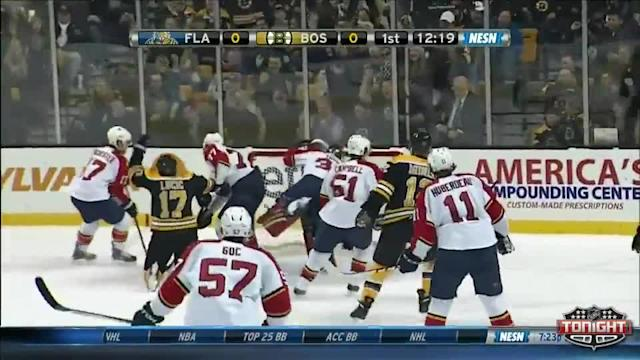 Florida Panthers at Boston Bruins - 01/28/2014