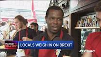 Locals weigh in on Brexit
