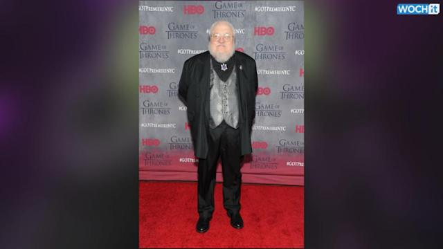 George R.R. Martin Throws Out First Pitch In Baseball Game, Kills It