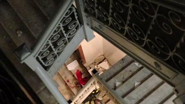 NYU Student Plunges 30 Feet After Stairs Collapse