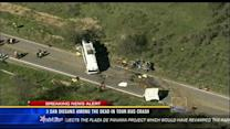 3 San Diegans among the dead in tour bus crash