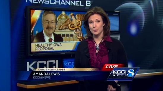 Branstad announces new health care plan
