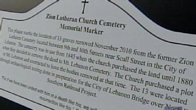 Mass Memorial Service Held For 13 Graves Found At Construction Site