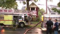 Firefighter's aunt dies in Newark fire