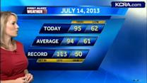 Eileen's Sunday Forecast 7.14.13