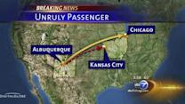 Unruly man diverts Chicago-bound plane, his 2nd flight disruption in 24 hours