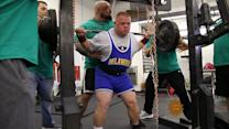 Meet a weightlifter who's lifting spirits