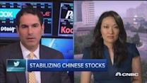 Stabilizing Chinese stocks