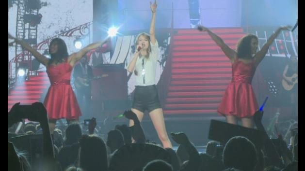 Taylor Swift wows on opening night of UK Red tour