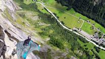 B.A.S.E. Jumping in Switzerland with Ian McIntosh