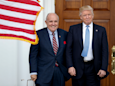 Rudy Giuliani was reportedly retained for 'hundreds of thousands of dollars' by an associate's firm Fraud Guarantee