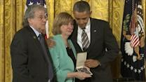 Obama Honors Newtown Victims With Citizens Medal