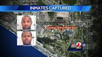 Escaped inmates caught in Panama City