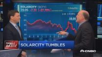 Cramer's Mad Dash: Solar City misses again