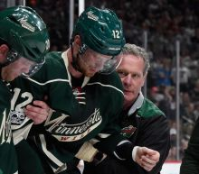 Wild's Eric Staal released from hospital after head-first crash into boards vs. Blues