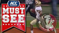 FSU WR Rashad Greene Turns on the Jets | ACC Must See Moment