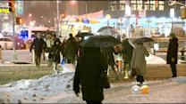 Snowy Afternoon Turns Into Soggy, Slow Commute
