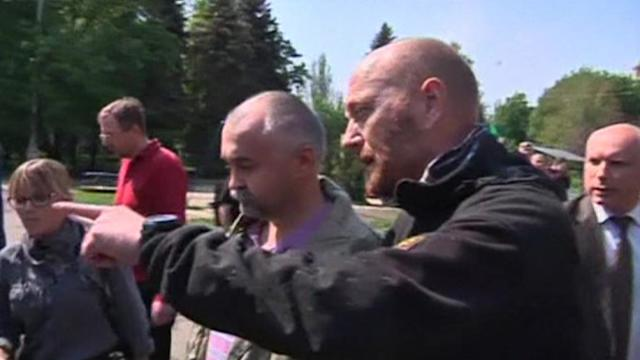 Ukraine OSCE observers freed