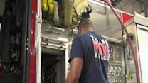 Injured firefighters return to duty