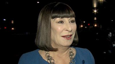 2013 Golden Globes: How Will Anjelica Huston Celebrate 'Smash's' Nomination?