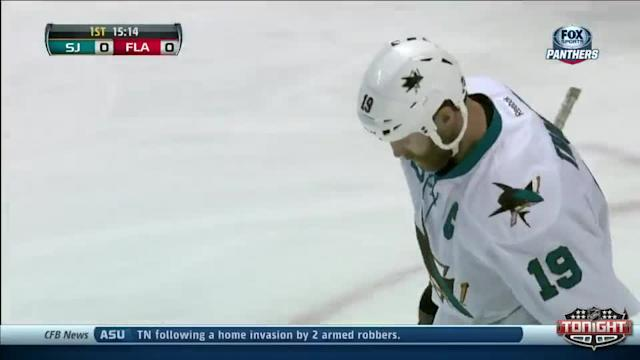 San Jose Sharks at Florida Panthers - 01/16/2014